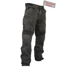 Мотоджинсы Mens Classic Fit Black Stonewash Den...